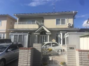 石巻市T様邸屋根外壁塗装工事