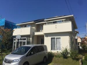 利府町K様宅屋根外壁塗装工事