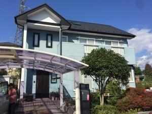 青葉区赤坂K様邸屋根外壁塗装・サイディング工事